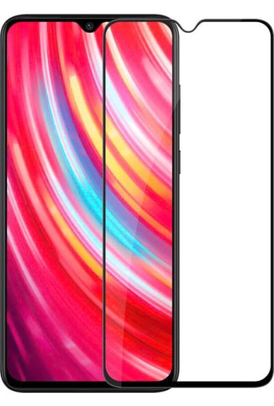Microsonic Xiaomi Redmi Note 8 Pro Tam Kaplayan Temperli Cam Ekran Koruyucu Siyah