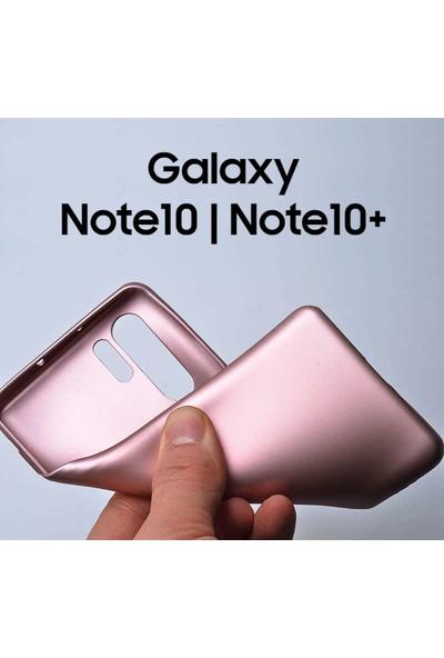 Microsonic Matte Silicone Samsung Galaxy Note 10 Plus Kılıf Siyah