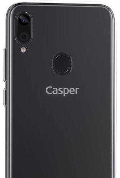 Microsonic Casper Via E3 Kılıf Transparent Soft Şeffaf