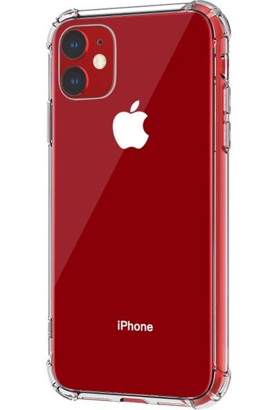 Microsonic Apple iPhone 11 Shock Absorbing Kılıf Şeffaf