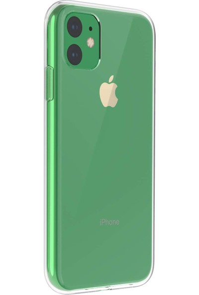 Microsonic Apple iPhone 11 Kılıf Transparent Soft Şeffaf