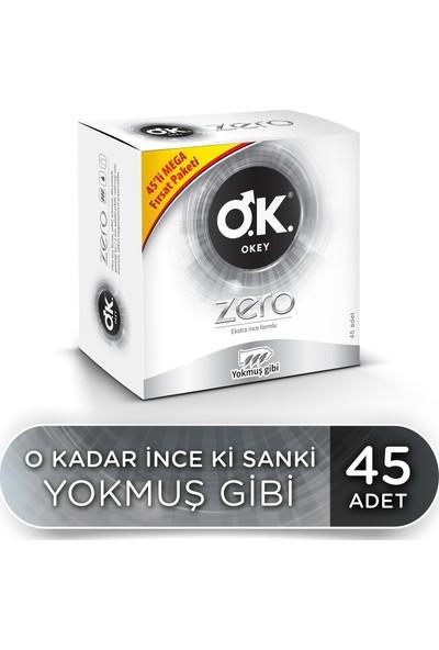Okey Zero 45'li Prezervatif Avantaj Paketi