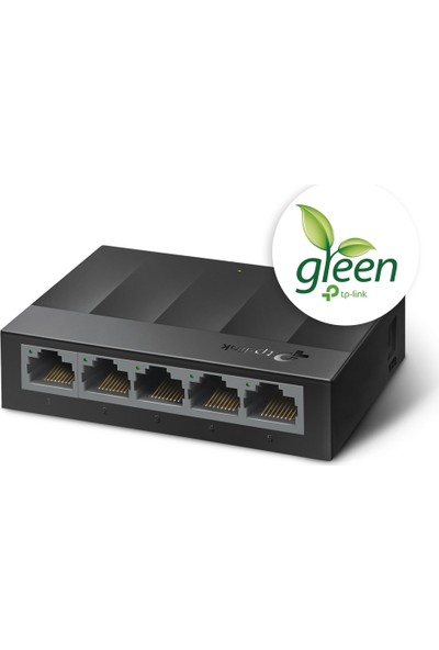 TP-Link LS1005G 5-Port 10/100/1000Mbps Masaüstü Switch