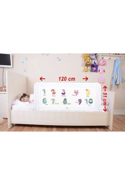 Portakal Safety Katlanabilir Yatak Bariyeri 120 cm