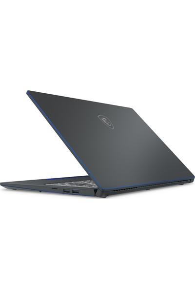 """MSI Prestige 15 A10SC-075TR Intel Core i7 10710U 16GB 512GB SSD GTX1650 Windows 10 Home 15.6"""" FHD Taşınabilir Bilgisayar"""