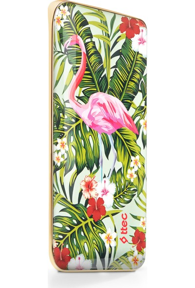 ttec ArtPower 8000 mAh Taşınabilir Şarj Aleti - Flamingo Bahçesi