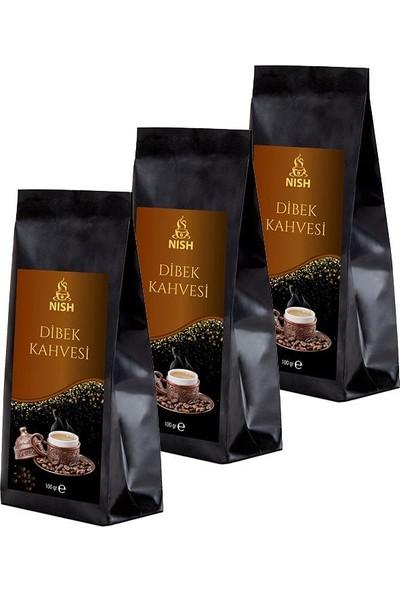 Nish Dibek Kahvesi 3 x 100 gr