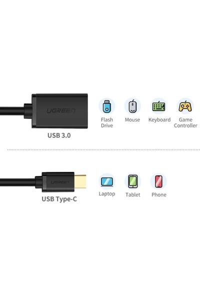 Schulzz Type-C USB 3.0 OTG Çevirici Kablo Apple/Samsung - Siyah