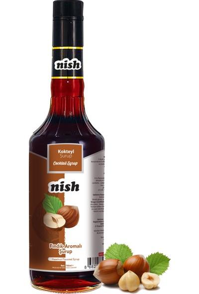 Nish Fındık Aromalı Şurup 700 ml