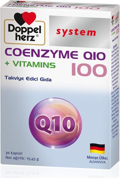 Doppelherz Q10 100 + Vitamins 30 Kapsül
