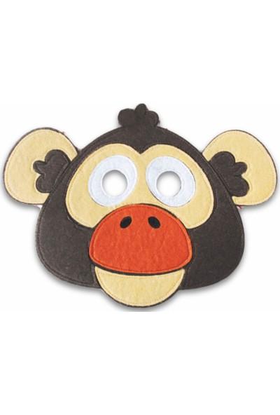 Kiduga Çocuk Maskesi Maymun Eğitici Drama Etkinlikleri