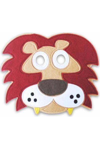 Kiduga Çocuk Maskesi Aslan Eğitici Drama Etkinlikleri