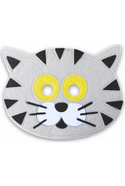 Kiduga Çocuk Maskesi Kedi Eğitici Drama Etkinlikleri