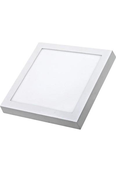 Ack Sıva Üstü Kare LED Panel Armatür 32 W 40 x 40 cm Gunışığı Işık Ack - AP04-03300