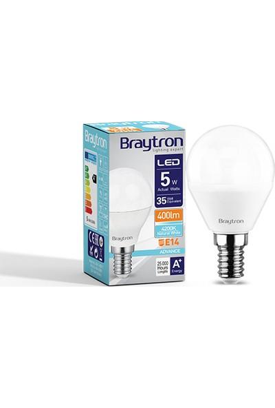 Braytron LED Ampul Top 5W E-14 6500K Beyaz Işık Braytron BA11-00513