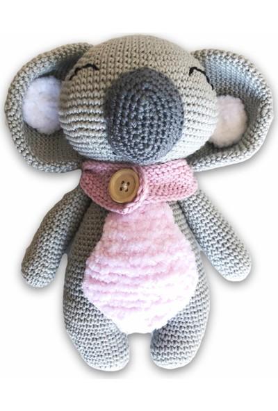 Kiduga Uyku Arkadaşı Koala Lisa Organik Amigurumi Oyuncak