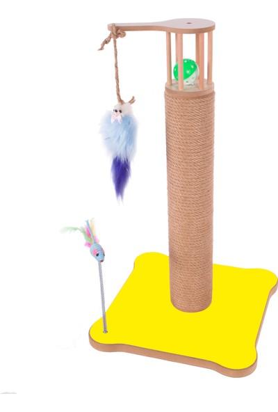 Pati Homes Kare Kedi Tırmalaması Oyuncaklı 55 cm