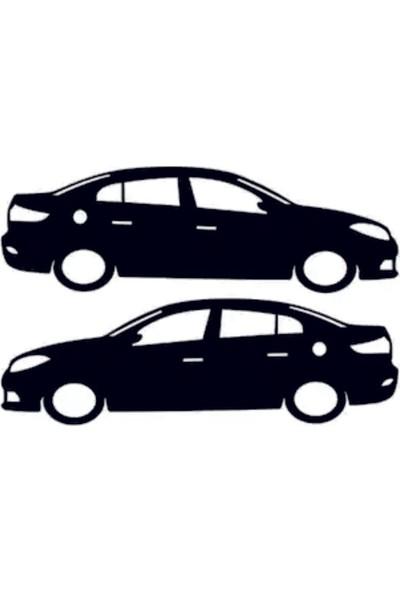 Tatfast Renault Fluence Basık Araç Sticker