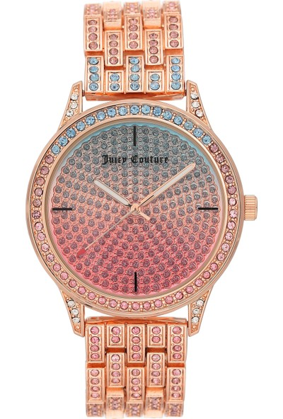 Juicy Couture JC-1138MTRG Kadın Kol Saati