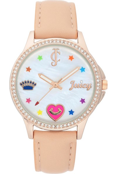 Juicy Couture JC-1106RGBH Kadın Kol Saati