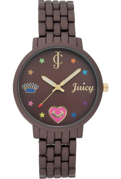 Juicy Couture JC-1108BNBN Kadın Kol Saati