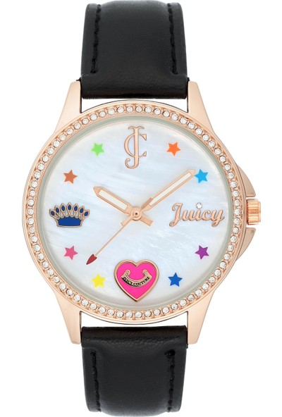 Juicy Couture JC-1106RGBK Kadın Kol Saati