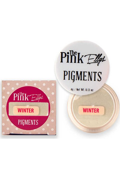 The Pink Ellys Pigment Winter