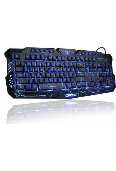BlueFinger RGB Kablolu Oyun Klavyesi
