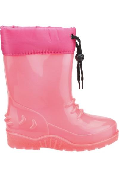 Sanbe 901P3101 Yağmur Su Geçirmez Kız/Erkek Çocuk Çizme Fuşya