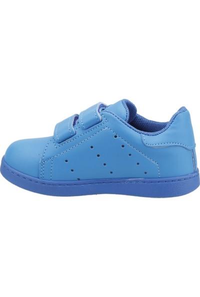 Sanbe 129P5401 Günlük Cırtlı Erkek Çocuk Spor Ayakkabı Mavi
