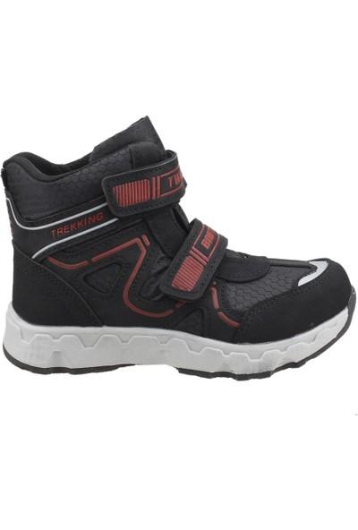 Twingo 480 Kışlık Termo Taban Cırtlı Erkek Çocuk Bot Ayakkabı Kırmızı