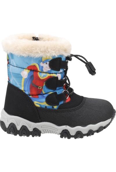 Twingo 9016 Termal Fermuarlı Erkek Çocuk Bot Ayakkabı Saks