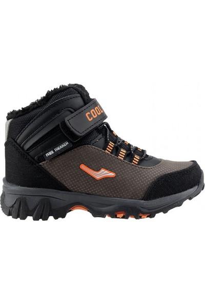 Ayakland Cool 503 Termal Astar Erkek Çocuk Bot Ayakkabı Kahverengi