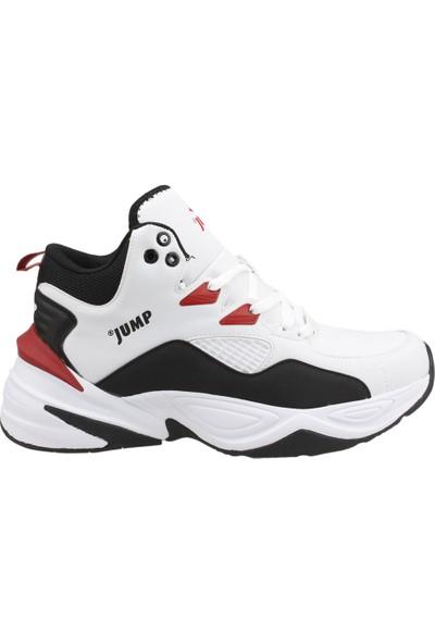 Jump 24052 Salon Spor Erkek Basketbol Ayakkabı Beyaz