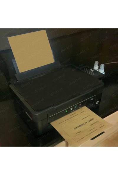 Direkt-al Yapışkanlı Kraft Stıcker Kağıdı A4 Ebadında 5-20-100 Yaprak Seçenekli