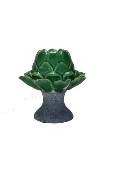 Star Dekor Green Ananas Mumluk
