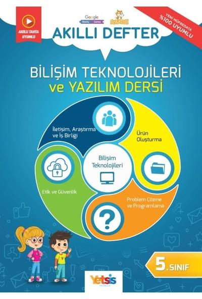 Yetsis Yayınları Bilişim Teknolojileri ve Yazılım Dersi 5. Sınıf Akıllı Defter