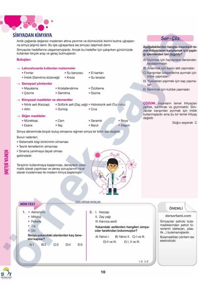 Ders Ortamı Yayınları Konu Özetli TYT Kimya Soru Bankası