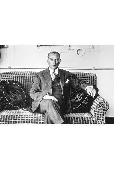 Çerçevelet Atatürk Vapurda 35 x 25 cm