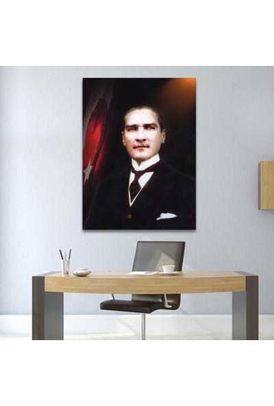 Çerçevelet Kanvas Atatürk Tablosu 25 x 30 cm