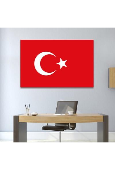 Çerçevelet Türk Bayrağı Tablosu 35 x 25 cm