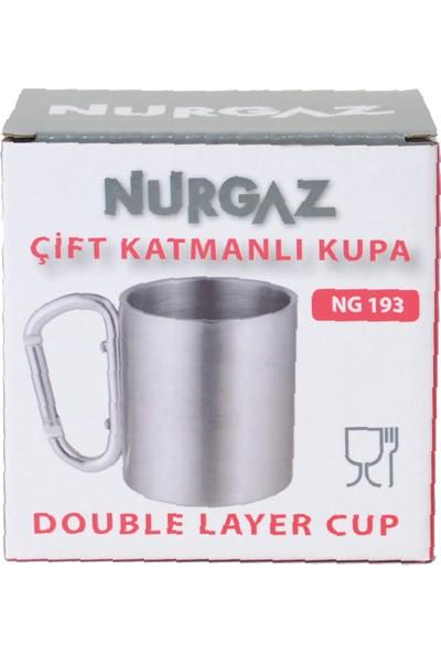 Nurgaz Ng 193 Çift Katmanlı Karabinalı Kupa