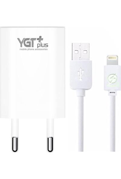 YGT Plus Apple iPhone 1.2A USB Lightning Hızlı Şarj Cihazı