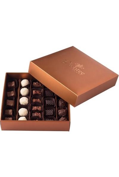 Şekerci Cafer Erol Picotee Kahverengi Kutu Spesiyal 20'li Çikolata