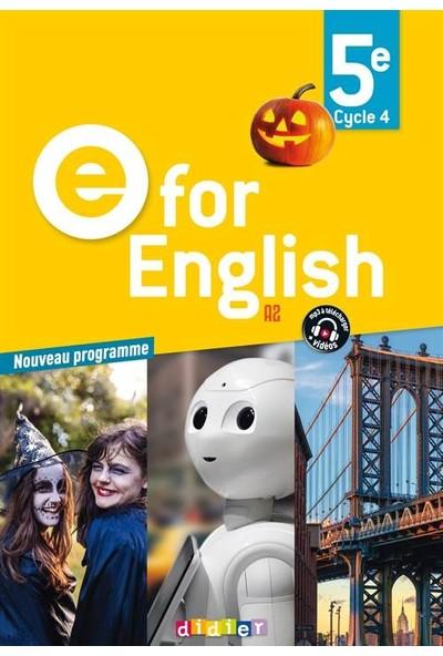 E For English 5Ème - Francoise Carrier
