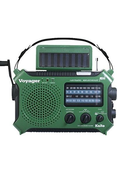 Kaito KA500GRN 5-Way Powered Emergency Radio