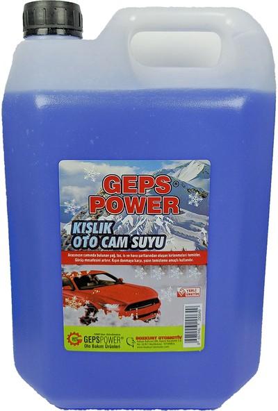 Geps Power Antifrizli Oto Cam Suyu 5 lt