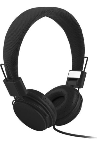 Color EP05 Mikrofonlu Kulaküstü Siyah Kulaklık