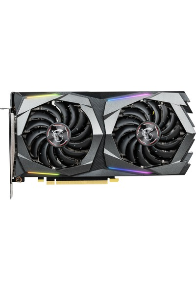 MSI Nvidia GeForce GTX1660 Ti Gaming 6GB 192Bit GDDR6 DX(12) PCI-E 3.0 Ekran Kartı (GeForce GTX 1660 Ti GAMING 6G)