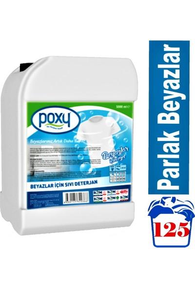 Poxy Beyazlar Için Sıvı Deterjan 5000 ml